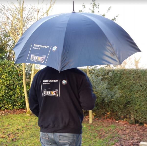 parapluie du club