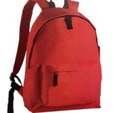 sac à dos de couleur rouge