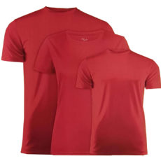 T-shirt de couleur rouge